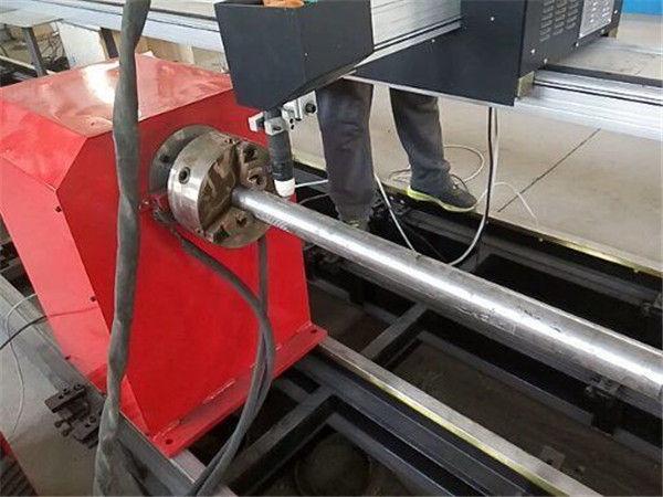 2017 Uusi kannettava tyyppi Plasma Metal Pipe -leikkuri, CNC-metalliputkien leikkauskone