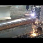 CNC-3-akselinen plasma liekki putki pyörivä putki teräksen leikkaus kone