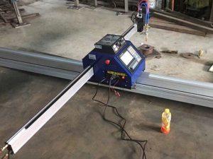 Kiina halpa 1500 * 2500mm metalli kannettava cnc plasma leikkaus kone ce