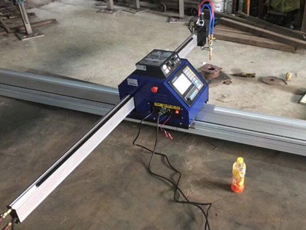 Kiina Halpa 15002500mm metallinen kannettava CNC-plasmaleikkauskone, jossa CE