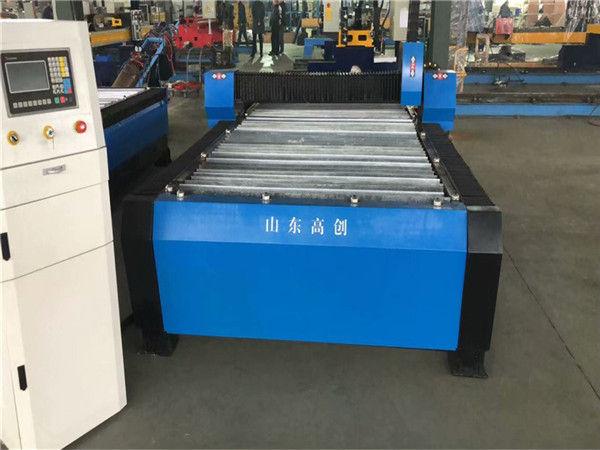 Kiina Huayuan 100A plasmaleikkaus CNC-kone 10 mm levymetalli
