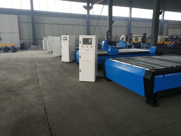 CNC-kannettava plasma-liekinleikkuri laitteistossa. CNC-ruostumattoman teräksen leikkauskone