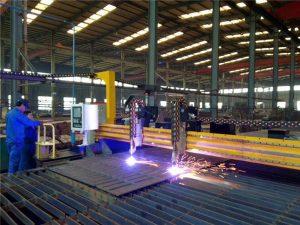 Portaaton CNC-plasmaleikkuri ja liekinleikkuri teräslevylle