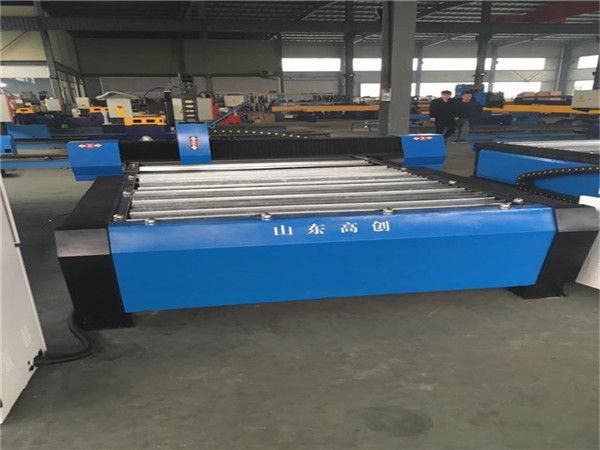 Uusi suunniteltu CNC-leikkauslaite metallilevyn CNC-plasmaleikkurille