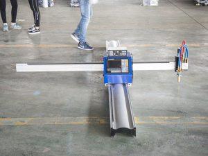 uusi tekniikka mikrokäynnistys cnc-metallileikkuri / kannettava cnc-plasmaleikkuri