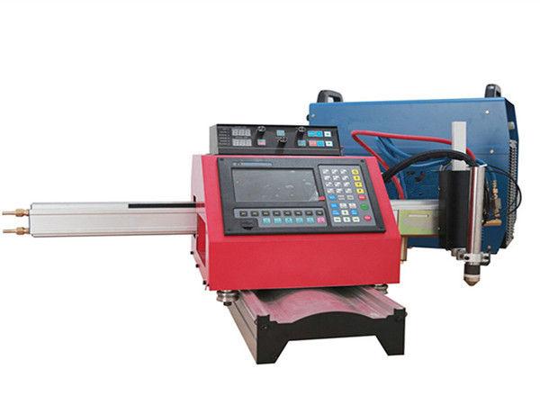Kannettava CNC-plasmaleikkuri ja automaattinen kaasunleikkauslaite teräksisellä telalla