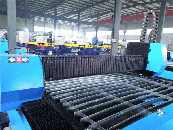 Käytännöllinen ja taloudellinen korkean tarkkuuden suorituskykyinen metallinkäsittelylaite, kannettava CNC-plasmaleikkuri Zk1530