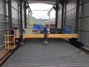 tarkkuus cnc-plasmaleikkuri tarkka 13000 mm servomoottori