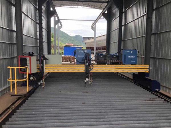 Tarkka CNC-plasmaleikkuri, tarkka 13000 mm servomoottorilla