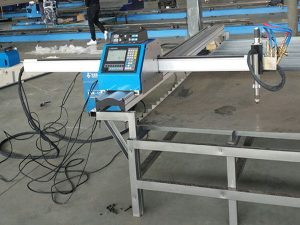 Kiina toimittaja nopea nopeus kannettava cnc plasma leikkaus kone