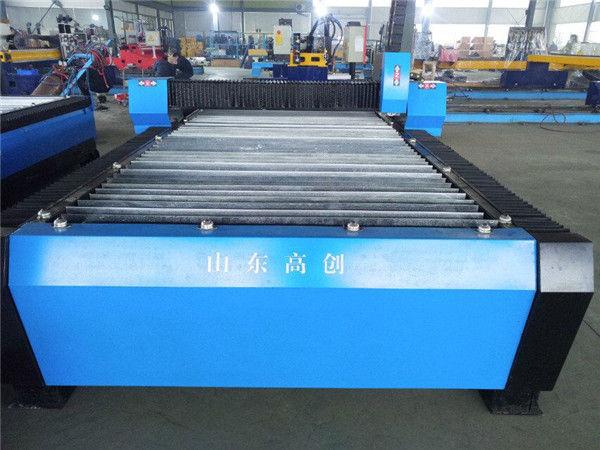 cnc plasmaleikkaus metallilevyjä pieniä koneita tuottamaan rahaplasmanleikkauskonetta cnc