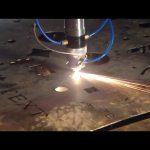 valmistettu Kiinassa kaupan vakuutuksen halpa hinta kannettava leikkuri cnc plasma leikkaus kone ruostumattomasta teräksestä metallirauta